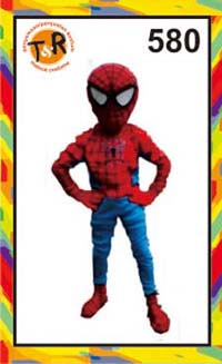 580.sewa kostum spiderman