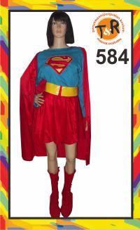 584.sewa kostum supergirl