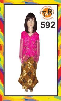 592.sewa kostum kebaya modern