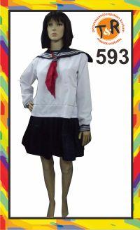 593.sewa kostum pelajar jepang