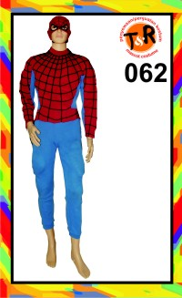 62.penyewaan kostum spiderman