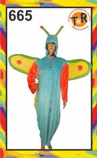 665.sewa kostum kupu - kupu