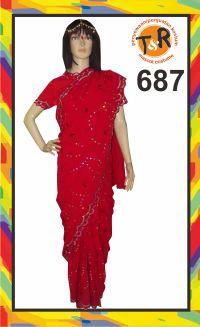 687.sewa kostum india