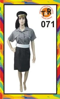 71.penyewaan kostum Polisi Wanita