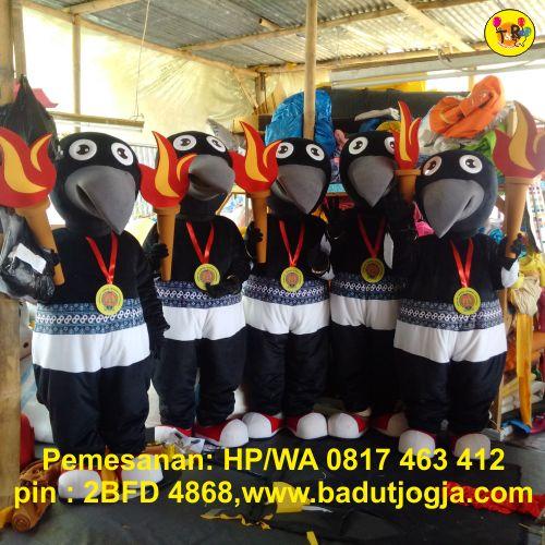 badut maskot porda koni kulonprogo yogyakarta