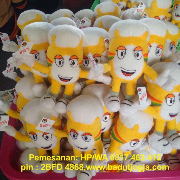 boneka maskot kpu Belitung timur