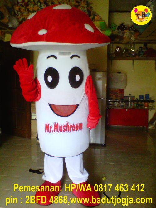 buat jual maskot mr mushroom
