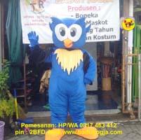 maskot OWL Burung Hantu
