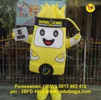 maskot SS waroeng steakandshake jogja food truck