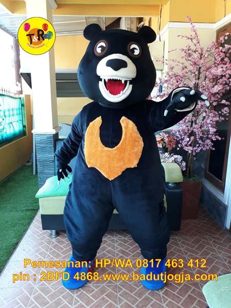 maskot beruang madu sma 2 jogja