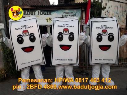 maskot kpu 2019 sang sura surat suara