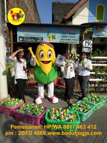 maskot pilkada kpu 2020 kabupaten boyolali jagung