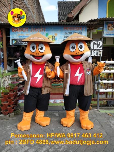 maskot pilkada kpu 2020 kabupaten grobogan kodok katak swike