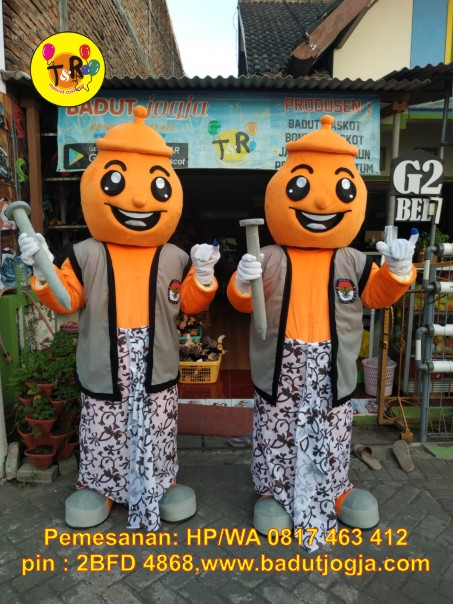 maskot pilkada kpu 2020 kabupaten kendal kendil