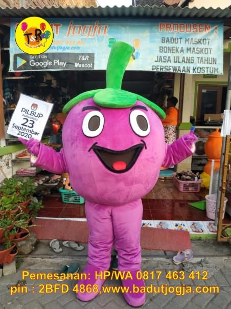 maskot pilkada kpu 2020 kabupaten purworejo manggis