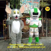 maskot robot phone shop toko hp