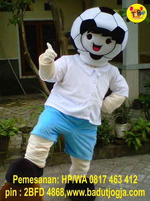 pembuat maskot djuragan futsal