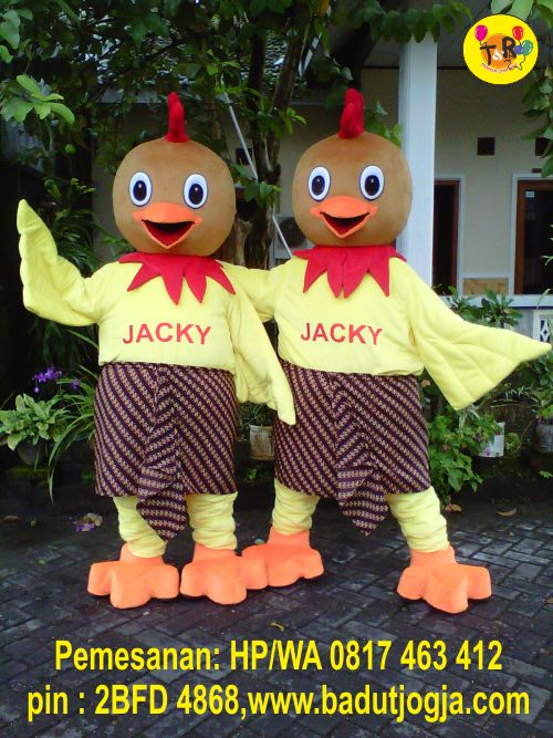 pembuat maskot java chicken
