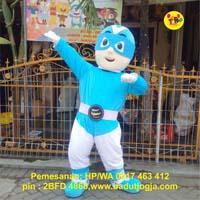 pembuat maskot superhero jogja tnr mobile phone