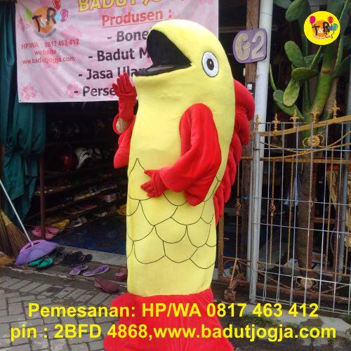 produsen badut maskot ikan