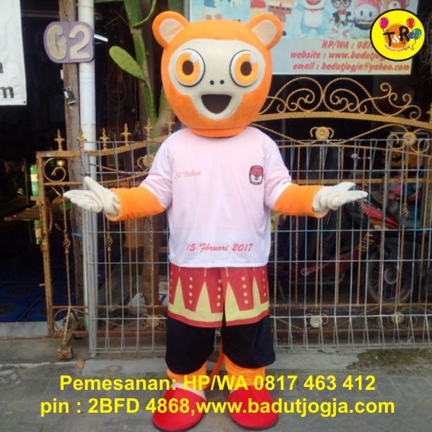 produsen maskot kpu bangka belitung