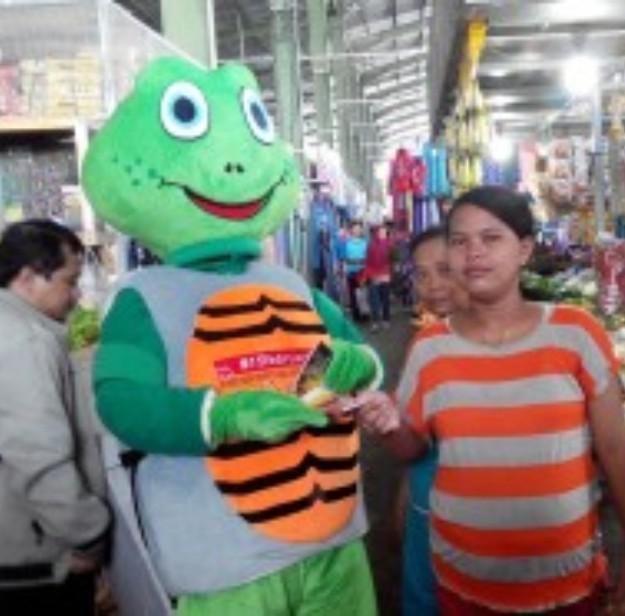 produsen maskot kpu,foto maskot kpu cilacap