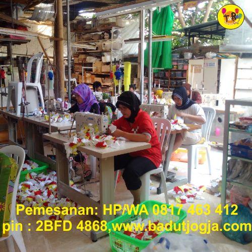 proses pembuatan boneka maskot selangor malaysia