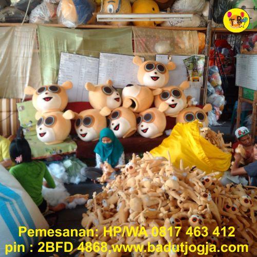 proses produksi maskot porwil koni bangka belitung babel