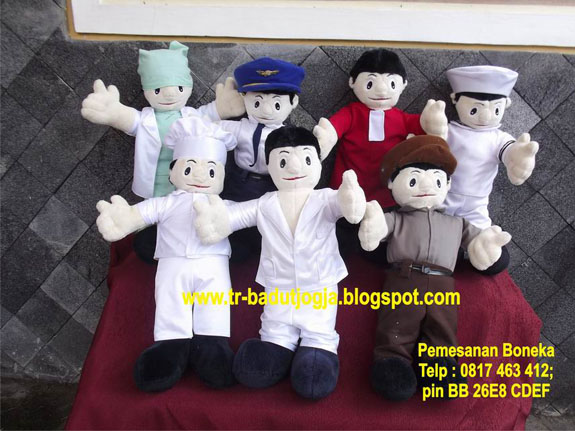 jual aneka boneka profesi 0817-463-412