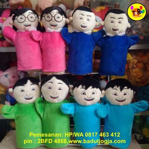 jual aneka boneka tangan kartun anak
