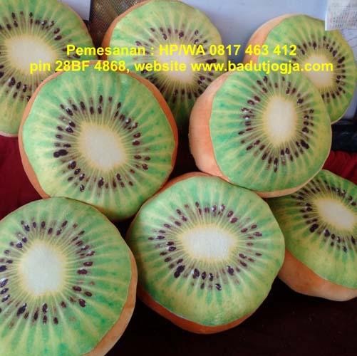 jual bantal buah kiwi murah jogja