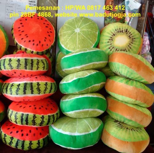 produsen bantal buah murah jogja