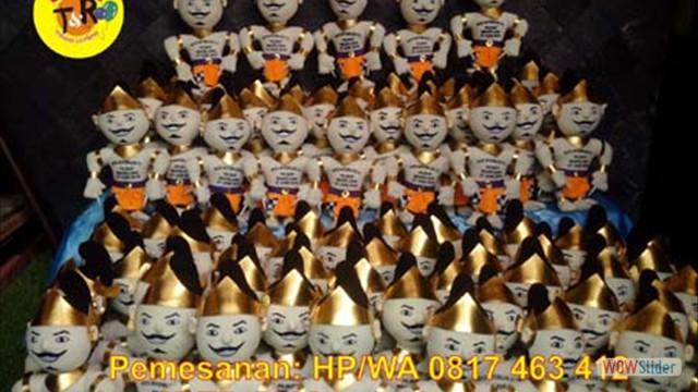 boneka maskot kpu magelang 2018
