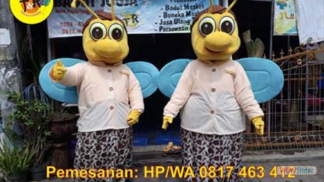 maskot lebah dinas pariwisata batang